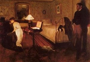 Edgar Degas - Interior (or The Rape)