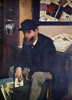 Edgar Degas - The Amateur, 1866