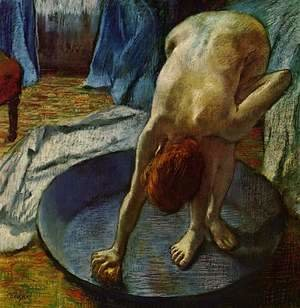 Edgar Degas - Woman in the Bath, 1886