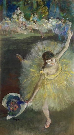 Edgar Degas - End of an Arabesque, 1877