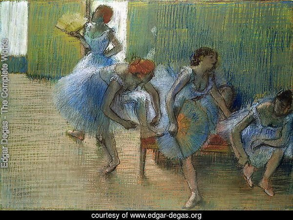 Dancers on a Bench, c.1898