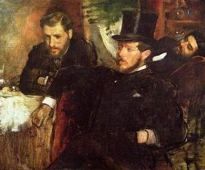 Edgar Degas - Jeantaud, Linet and Laine, 1871