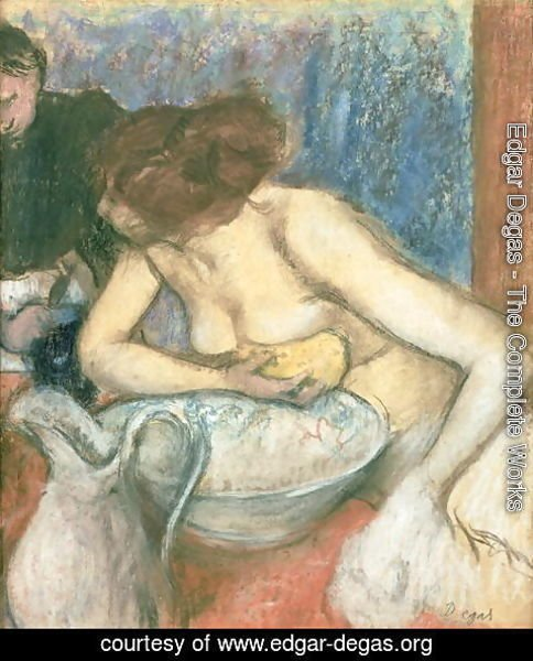 Edgar Degas - The Toilet, 1897