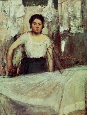 Edgar Degas - The Laundress, c.1869