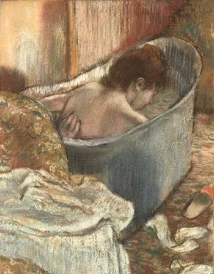 Edgar Degas - The Bath