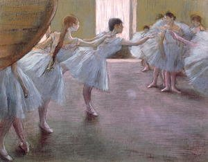 Dancers at Rehearsal, , 1875-1877