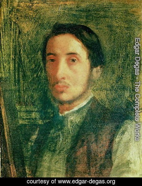 Edgar Degas - Self Portrait as a Young Man