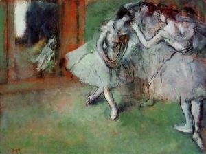 Edgar Degas - Group of Dancers, 1890s