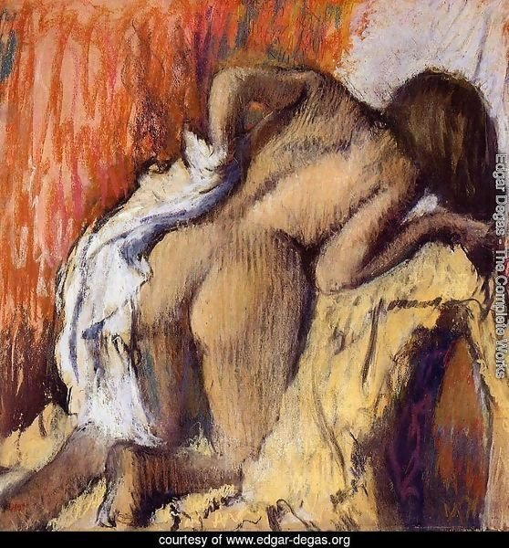 Woman Drying Herself, c.1890-95