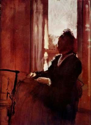 Edgar Degas - Woman at a Window, c.1871-2