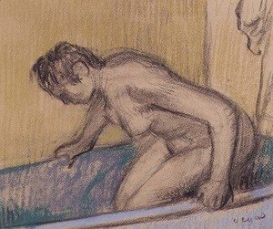 Edgar Degas - In the Bath, c.1883