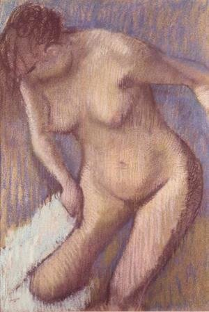 Edgar Degas - Woman Drying Herself 2