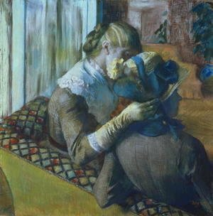 Edgar Degas - Two Women