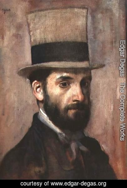 Portrait of Leon Bonnat (1833-1922) c.1863