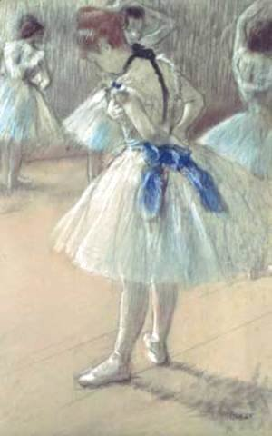 Edgar Degas - Dancer