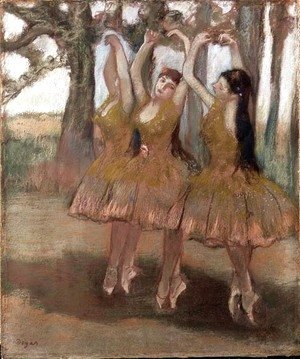 Edgar Degas - The Greek Dance, c.1881
