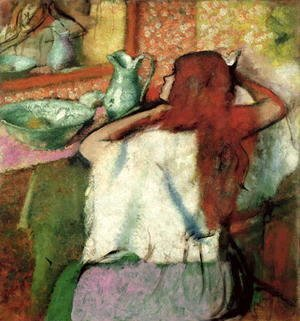Edgar Degas - Woman at her Toilet, c.1895-1900