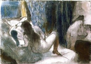Edgar Degas - The Brothel, c.1879