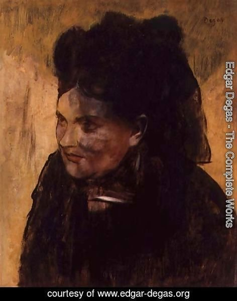 Portrait of a Woman, c.1876-80