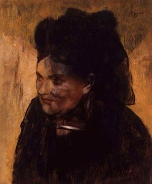 Edgar Degas - Portrait of a Woman, c.1876-80