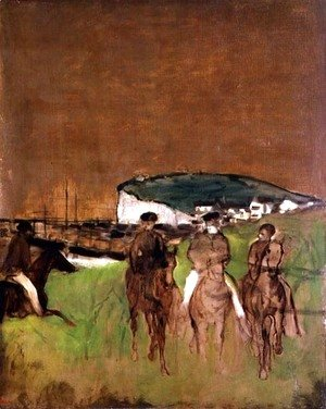 Edgar Degas - Morning Ride, c.1866
