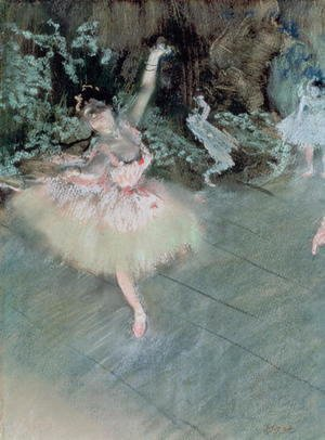Edgar Degas - The Star, c.1878