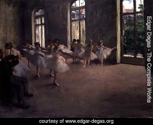 The Rehearsal, c.1873-78
