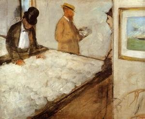 Edgar Degas - Cotton Merchants in New Orleans, 1873