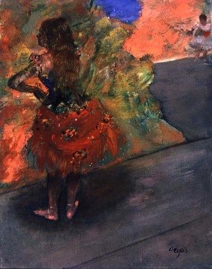 Edgar Degas - Ballet Dancer, c.1888-94
