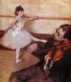 Edgar Degas - The Dance Lesson, c.1879
