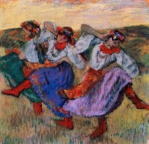 Edgar Degas - Russian Dancers, c.1899 2