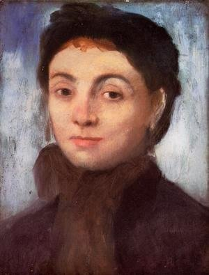 Edgar Degas - Portrait of Josephine Gaujelin, 1867
