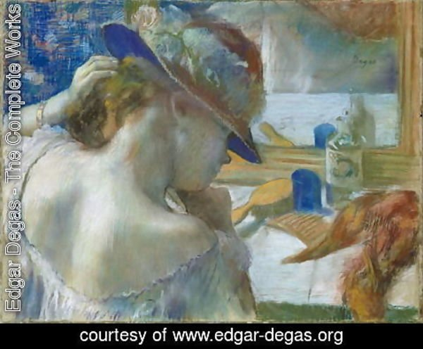 Edgar Degas - In Front of the Mirror, 1889