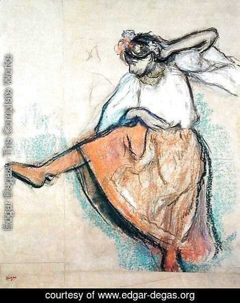 Edgar Degas - The Russian Dancer, c.1895