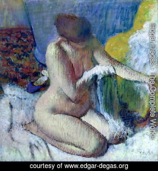 Edgar Degas - After the Bath 2