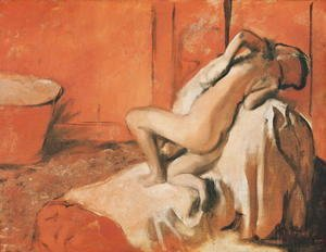 Edgar Degas - After the Bath, c.1896