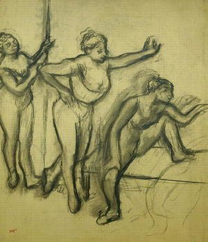 Edgar Degas - Three Dancers, c.1900