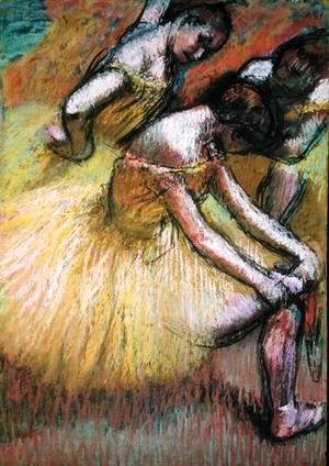 Edgar Degas - Group of Three Dancers