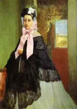 Therese de Gas (1842-95), sister of the artist, later Madame Edmond Morbilli, c.1863