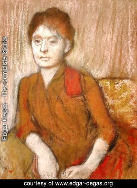 Edgar Degas - The Brown Dress