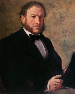 Portrait of Monsieur Ruelle, 1861