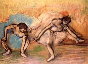 Edgar Degas - Two Dancers Resting, 1896