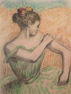 Edgar Degas - Dancer, 1882-95