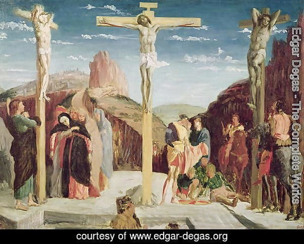 Calvary, after a painting by Andrea Mantegna (1431-1506)