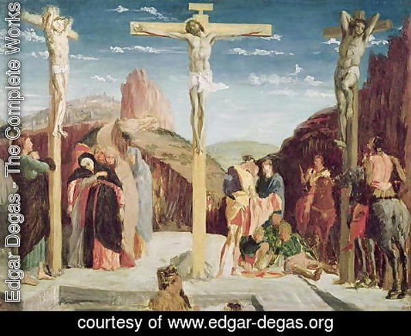 Edgar Degas - Calvary, after a painting by Andrea Mantegna (1431-1506)