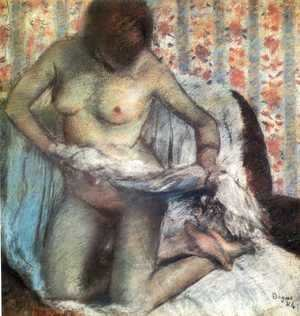 After the Bath, 1884