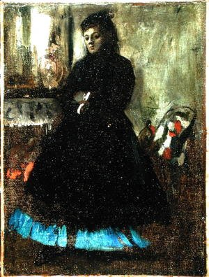 Edgar Degas - Portrait of Madame Ducros, 1858