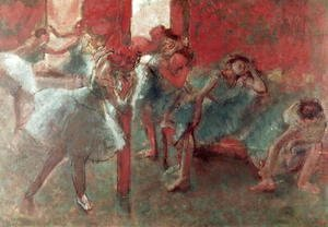 Dancers at Rehearsal, 1895-98