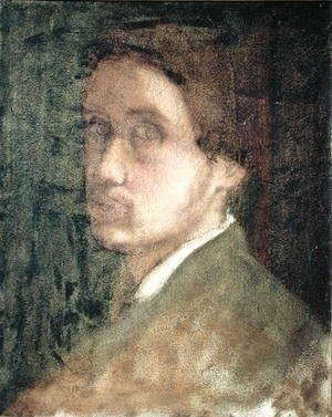 Edgar Degas - Self Portrait, c.1852