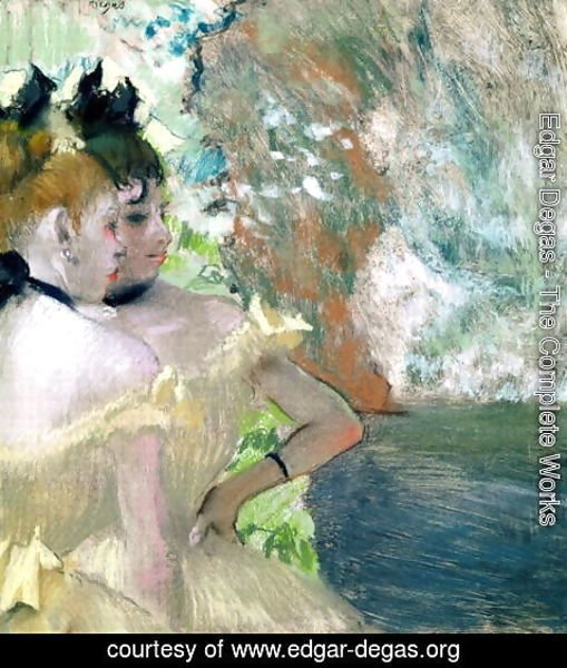 Edgar Degas - Dancers in the Wings